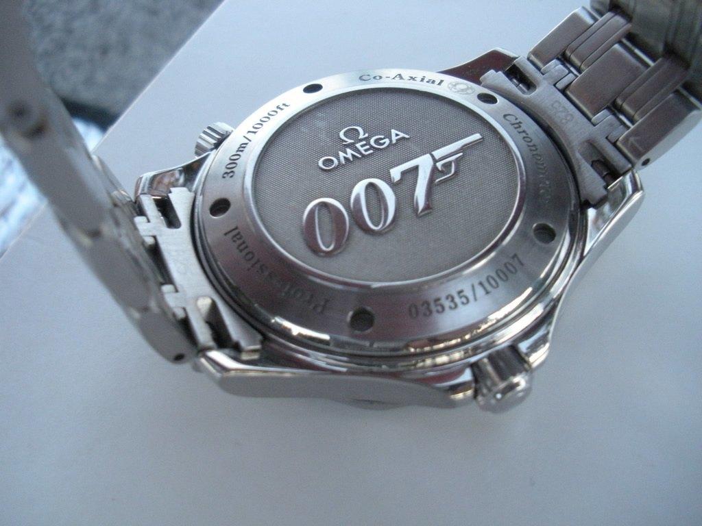 lo último 2b87c 602b8 Omega Seamaster Professional James Bond 007 (Escape Co-Axial ...