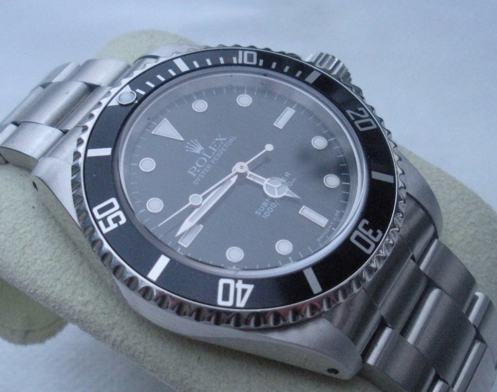 Rolex Submariner 14060 No Date Serie W