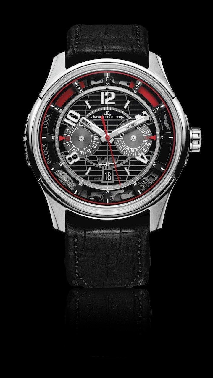 Jaeger-LeCoultre y Aston Martin: Visión de futuro con el AMVOX7 Chronograph