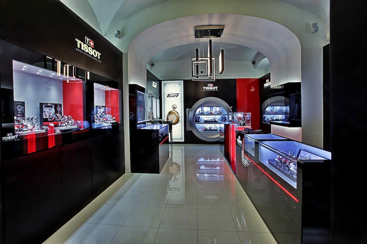 Tissot inaugura boutique en el famoso Emporio GUM de Moscú