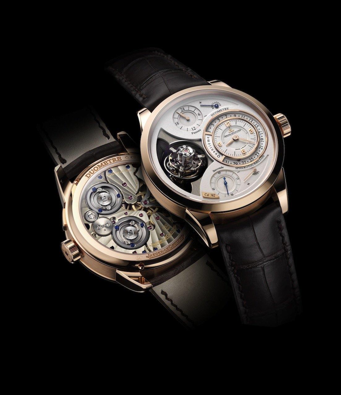 El reloj Duomètre Sphérotourbillon de Jaeger-LeCoultre fue premiado como el Mejor Reloj del año en el Munichtime y el Viennatime