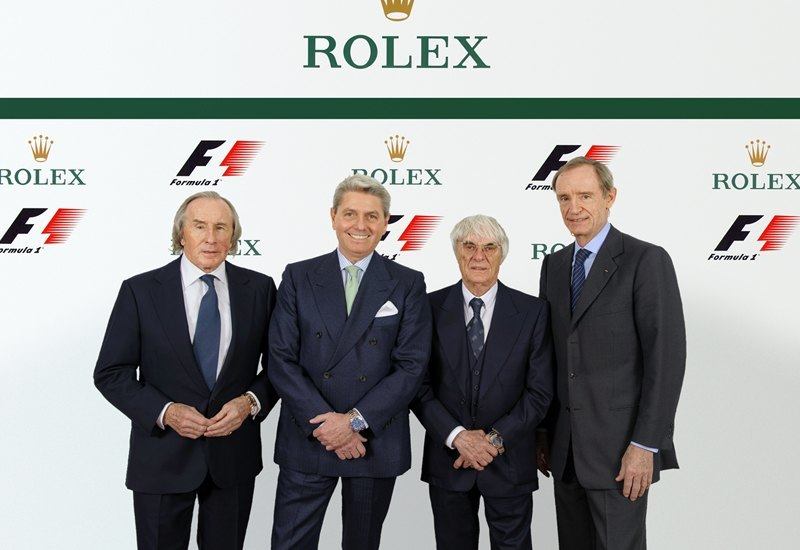 Rolex reemplaza a Hublot como Cronometrador Oficial y Reloj Oficial de la Fórmula 1