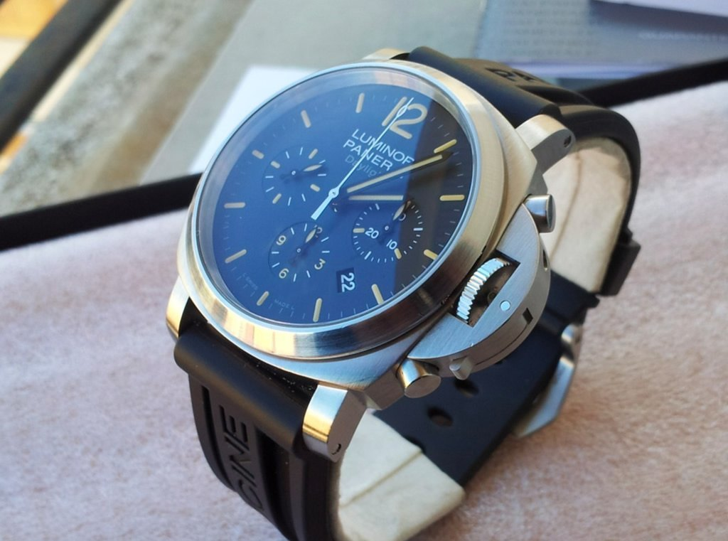 Luminor Panerai Pam 356 Chrono Daylight