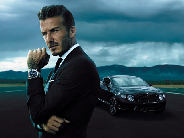 David Beckham, nuevo embajador de Breitling for Bentley