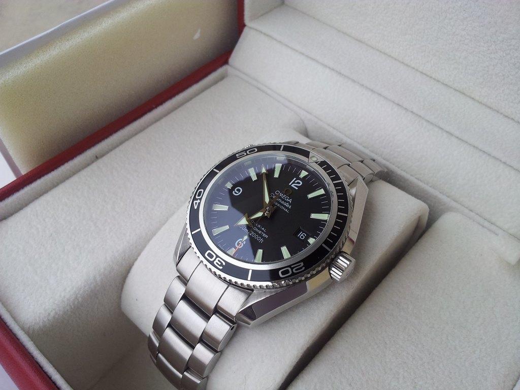Omega Seamaster Planet Ocean 42mm negro 2201.50.00