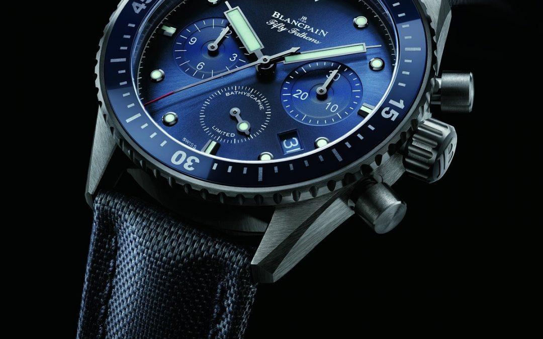 Blancpain presenta las ediciones limitadas Ocean Commitment