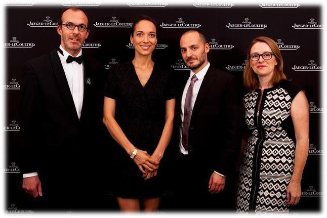 Jaeger-LeCoultre está orgulloso de apoyar el cine belga con su primera edición del Talent Dinner de Jaeger-LeCoultre