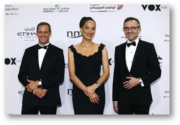 Jaeger-LeCoultre celebra su cuarto año como colaborador del Festival de Cine de Abu Dhabi