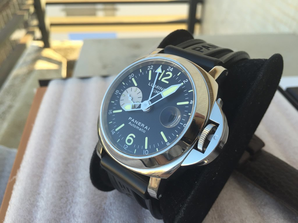 Luminor Panerai Pam 088 GMT Serie H