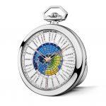 Montblanc 4810 Orbis Terrarum Pocket Watch '110 Years Edition' Ref. 114928