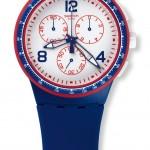 Swatch Especial Roland Garros 2015 azul crono