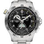 Khaki Pilot Chrono Worldtimer H76714135