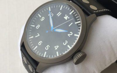 Ticino Titanium B-UHR Pilot 47mm