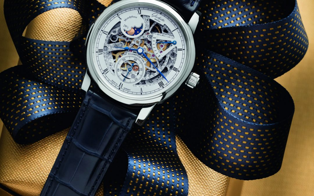 Esta Navidad Glashütte Original presenta el Senator Moon Phase Skeletonized Edition