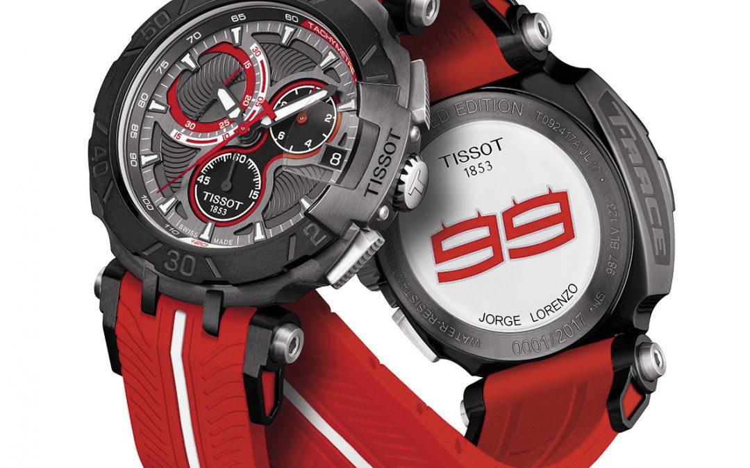 Tissot T-Race Jorge Lorenzo Edición Limitada 2017. ¡Es el momento de nuevos retos!