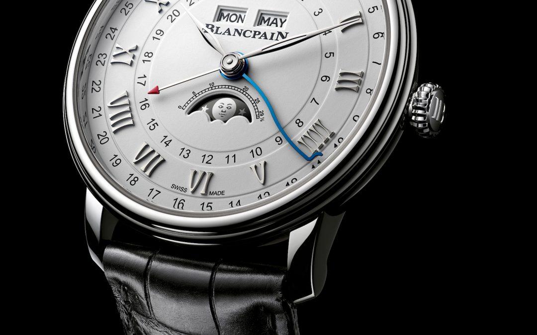 Blancpain Villeret Quantième Complet GMT – Colección Villeret Pre-Baselworld 2018 Ref. 6676-1127-55B / 6676-3642-55B
