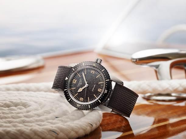 Longines brinda una segunda juventud a su primer reloj de buceo y presenta The Longines Skin Diver Watch