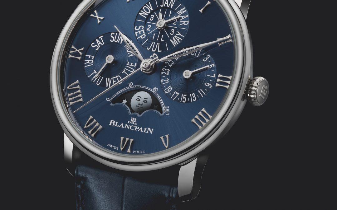 Blancpain rediseña su calendario perpetuo en exclusividad para sus tiendas