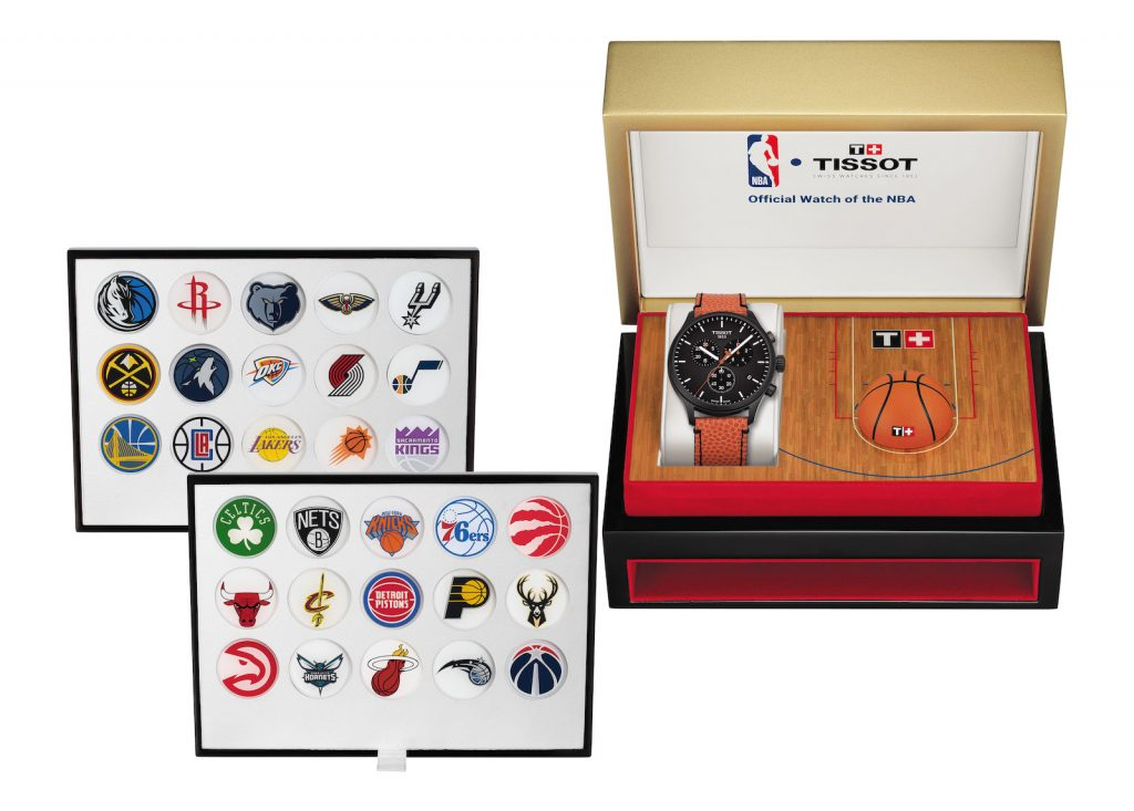 Tissot Chrono XL NBA Collector BOX