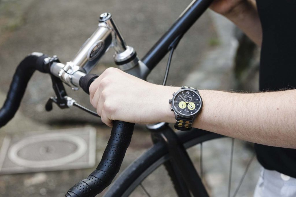 Tissot Chrono XL Tour de France lifestyle