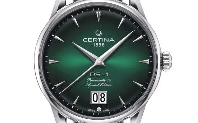 COUNT ON ME. Certina DS-1 Big Date 60 aniversario
