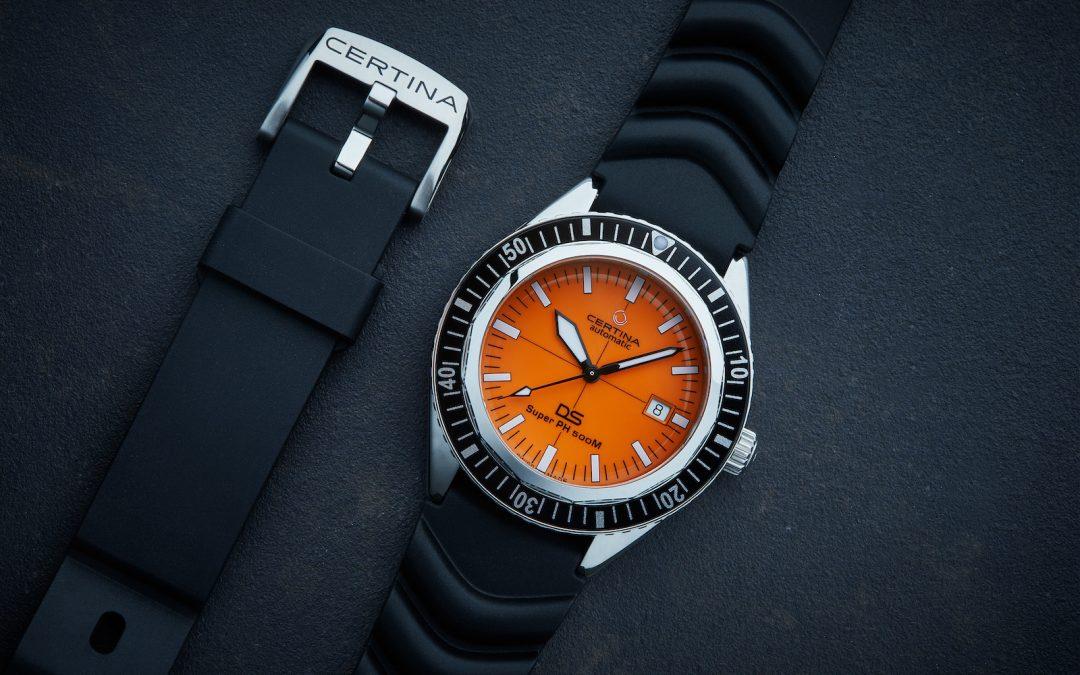 Un reloj de inmersión con historia… y personalidad. El Certina DS Super PH500M, Special Edition