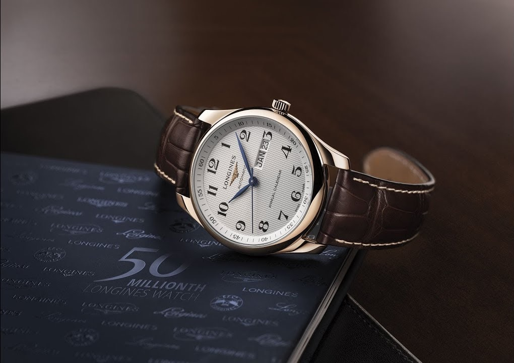 The Longines MasterCollection - annual calendar