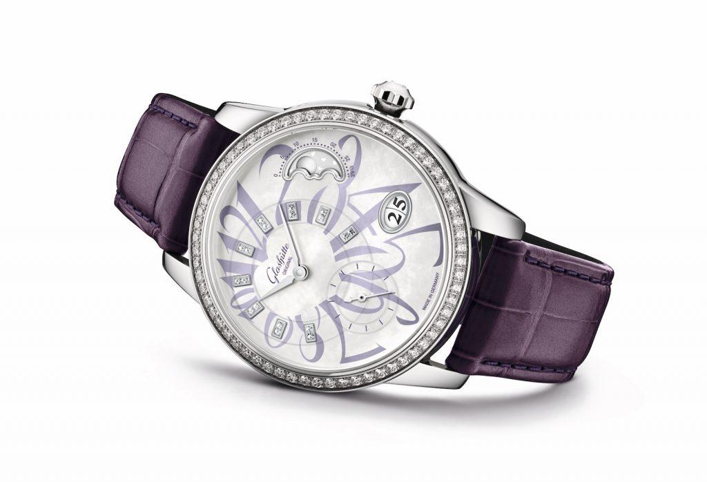 Glashutte Original PanoMatic Luna violeta 1-90-12-06-12-01