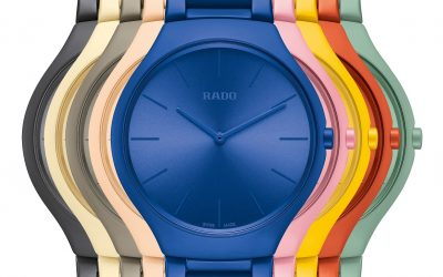 Rado True Thinline Les CouleursTM Le Corbusier