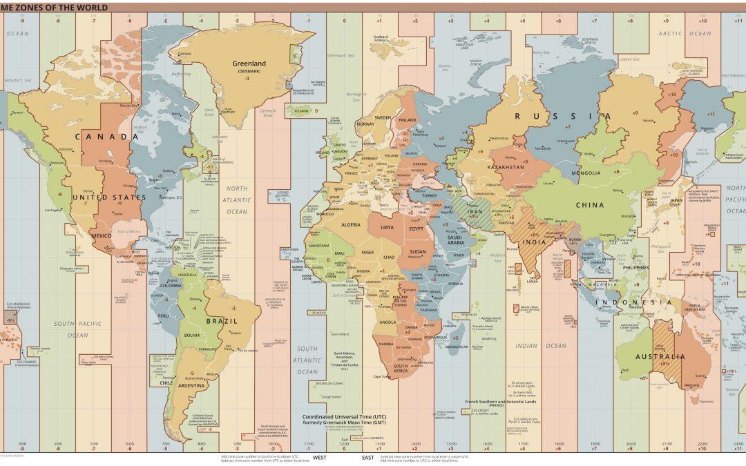 Husos horarios del mundo