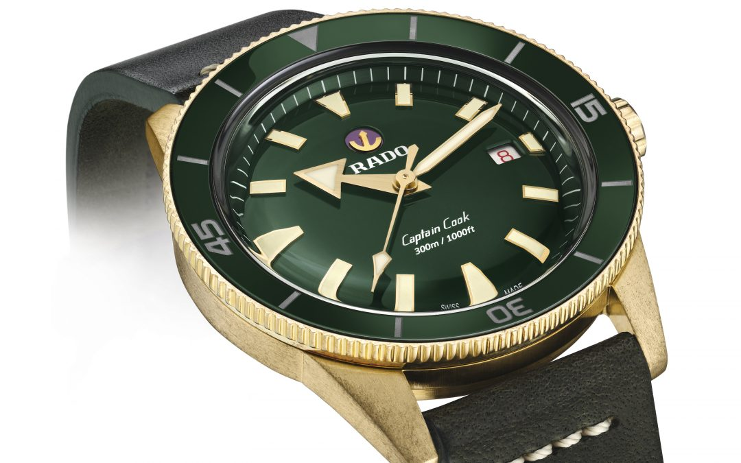 Rado Captain Cook Bronze. Feel it! Un Adonis de bronce