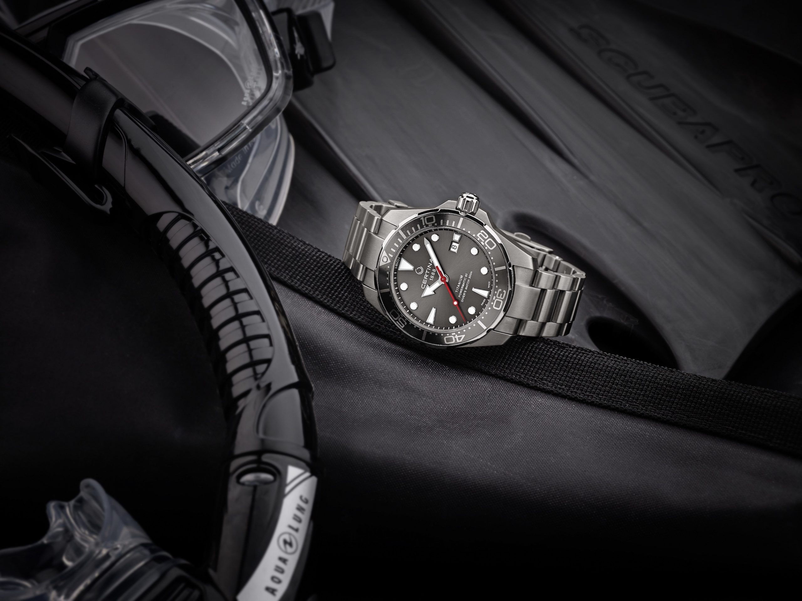 Certina DS Action Diver Titanium lifestyle