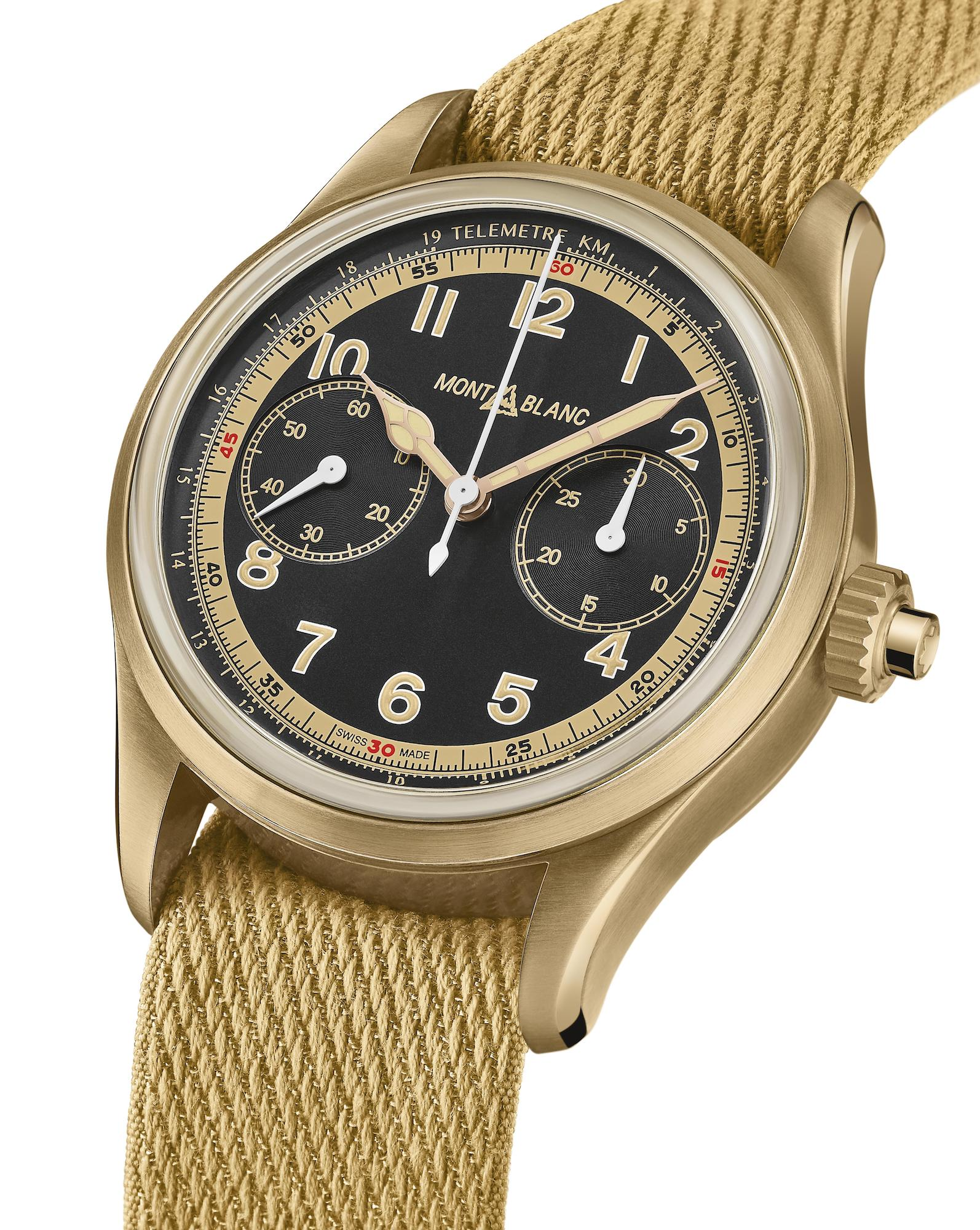 Montblanc 1858 Monopusher Chronograph Limited Edition 1858 Ref 125583