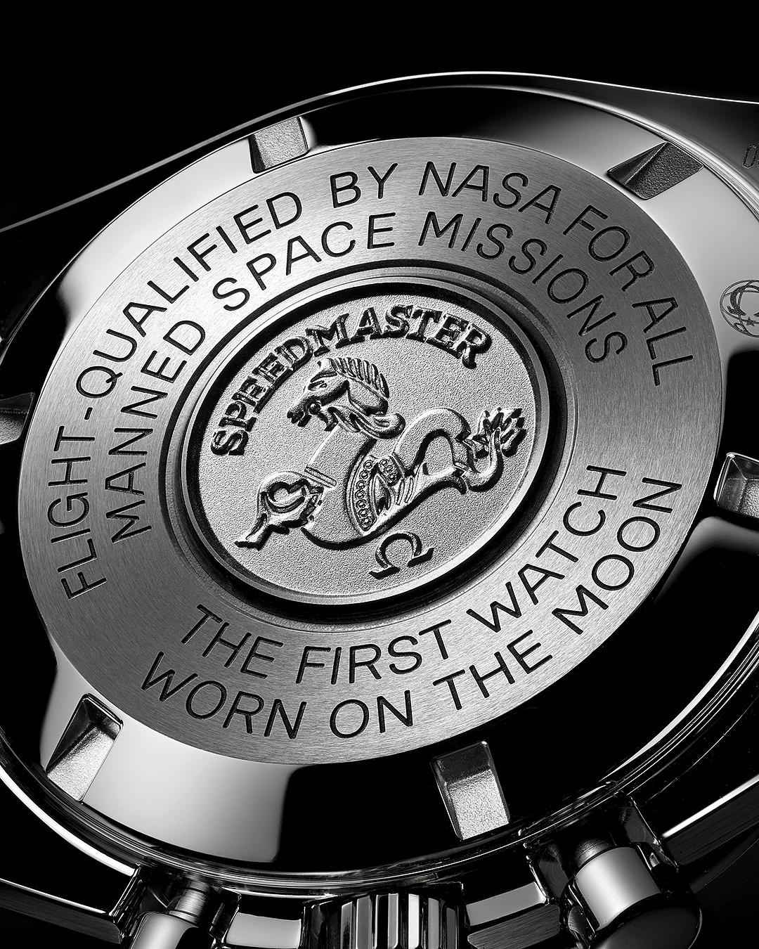 Omega Speedmaster Professional Moonwatch Caseback