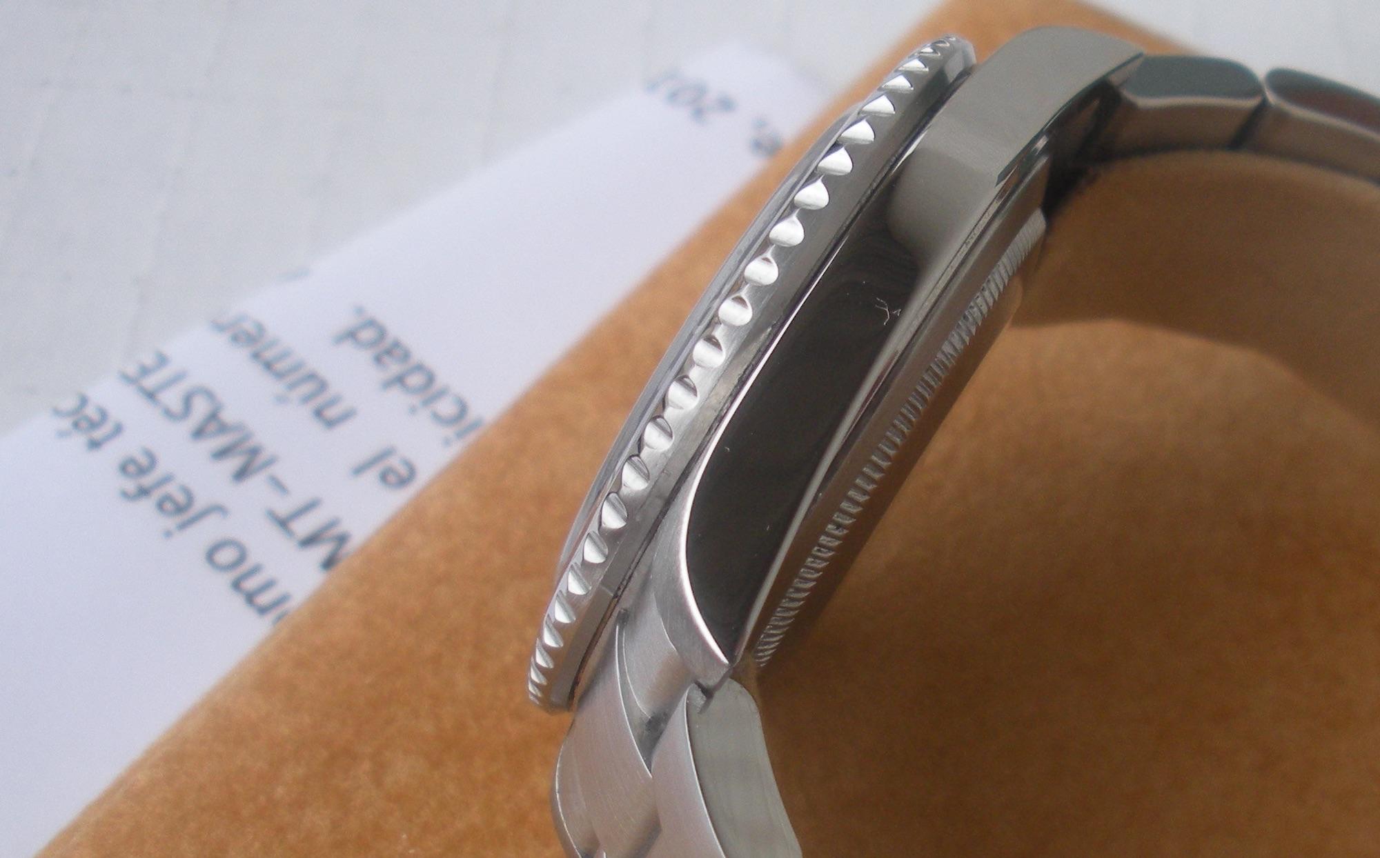 Rolex GMT Master II 16710T pulido carrura