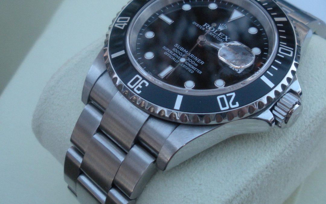 Cómo saber si un Rolex ha sido pulido
