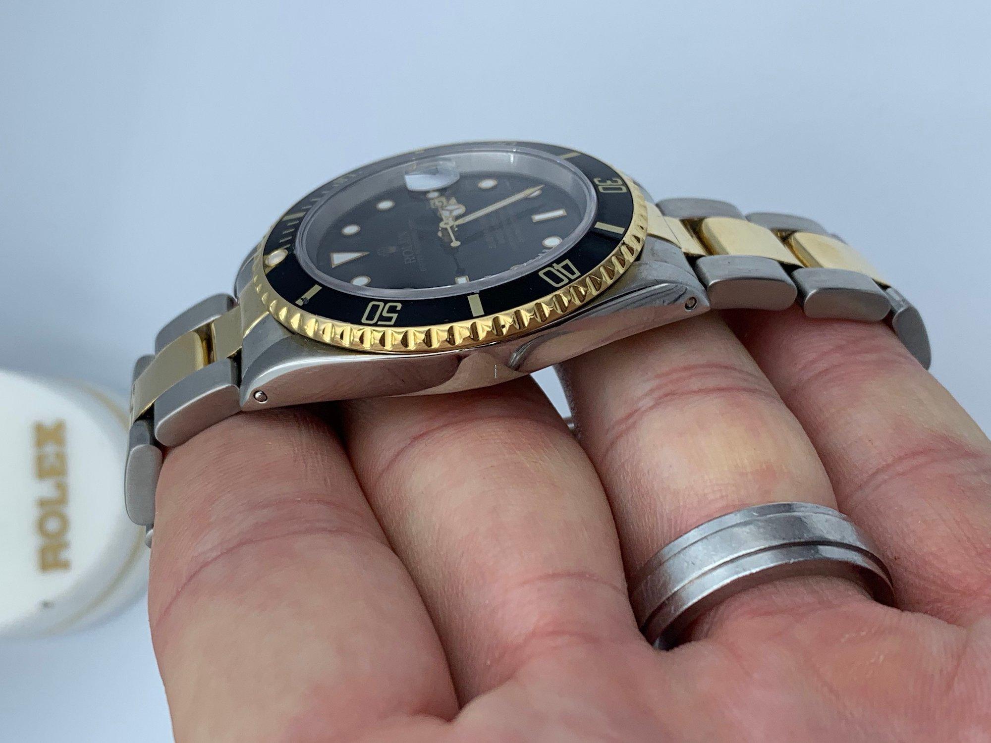 Rolex Submariner 16613 pulido 2