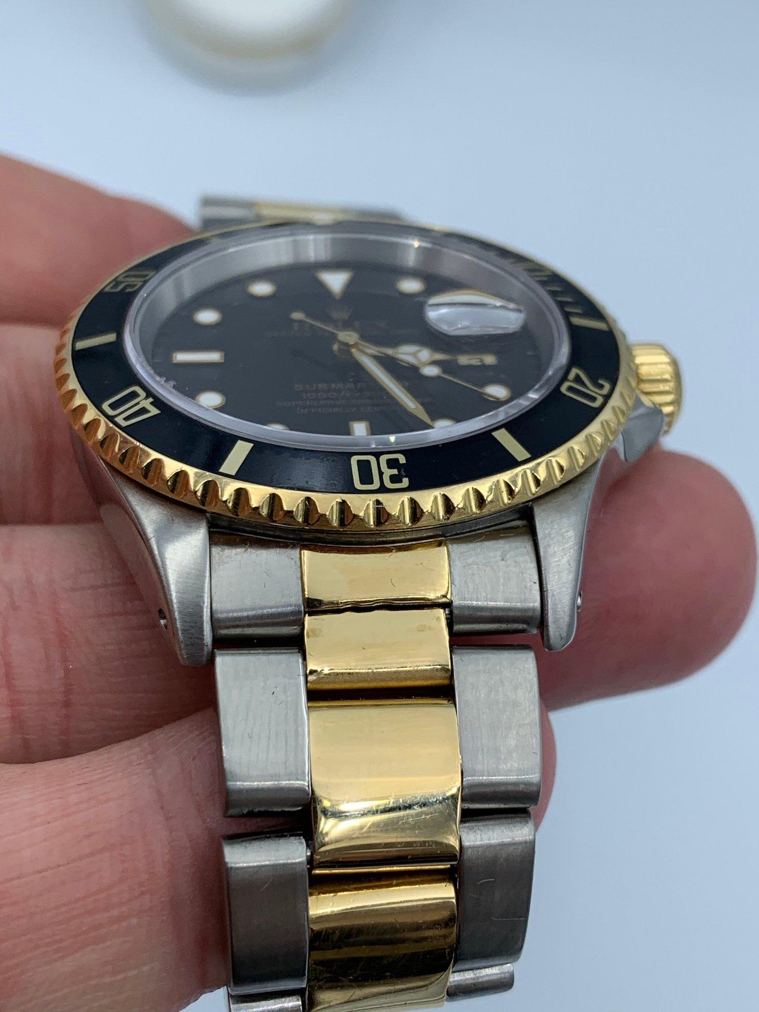 Rolex Submariner 16613 pulido 3