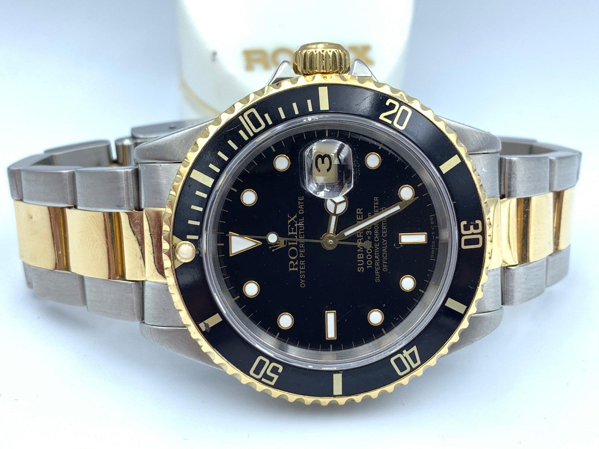 Rolex Submariner 16613 pulido