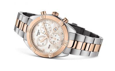 Tissot PR100 Chrono Sport-Chic Lady. Un reloj glamuroso