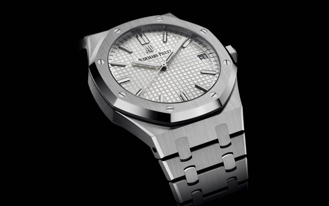 Audemars Piguet Royal Oak 41mm, ahora en blanco/plata