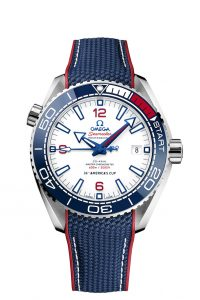 Omega Seamaster Planet Ocean 36th Americas Cup Edicion Limitada 215.32.43.21.04.001 frontal