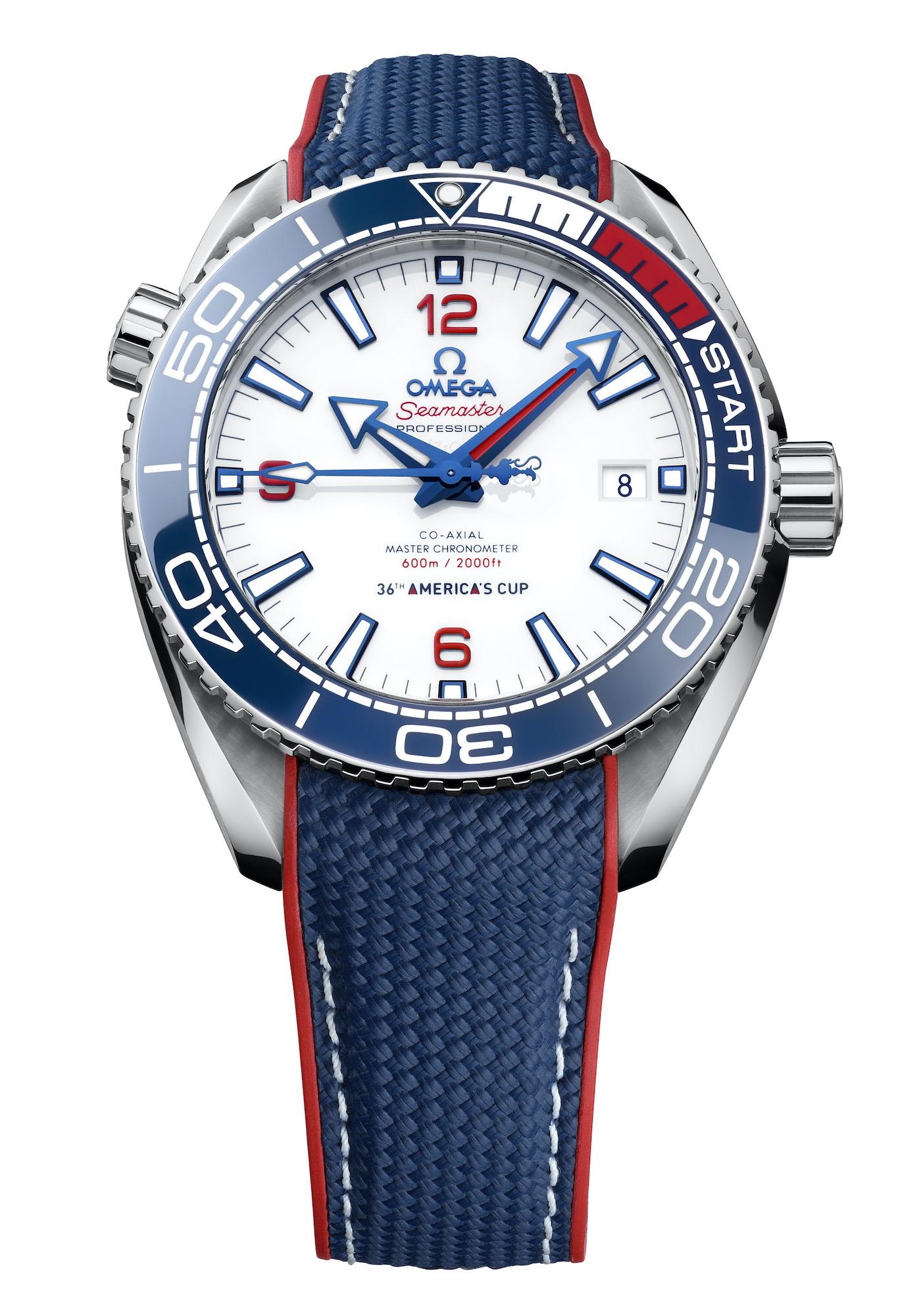 Omega Seamaster Planet Ocean 36th Americas Cup Edicion Limitada 215.32.43.21.04.001