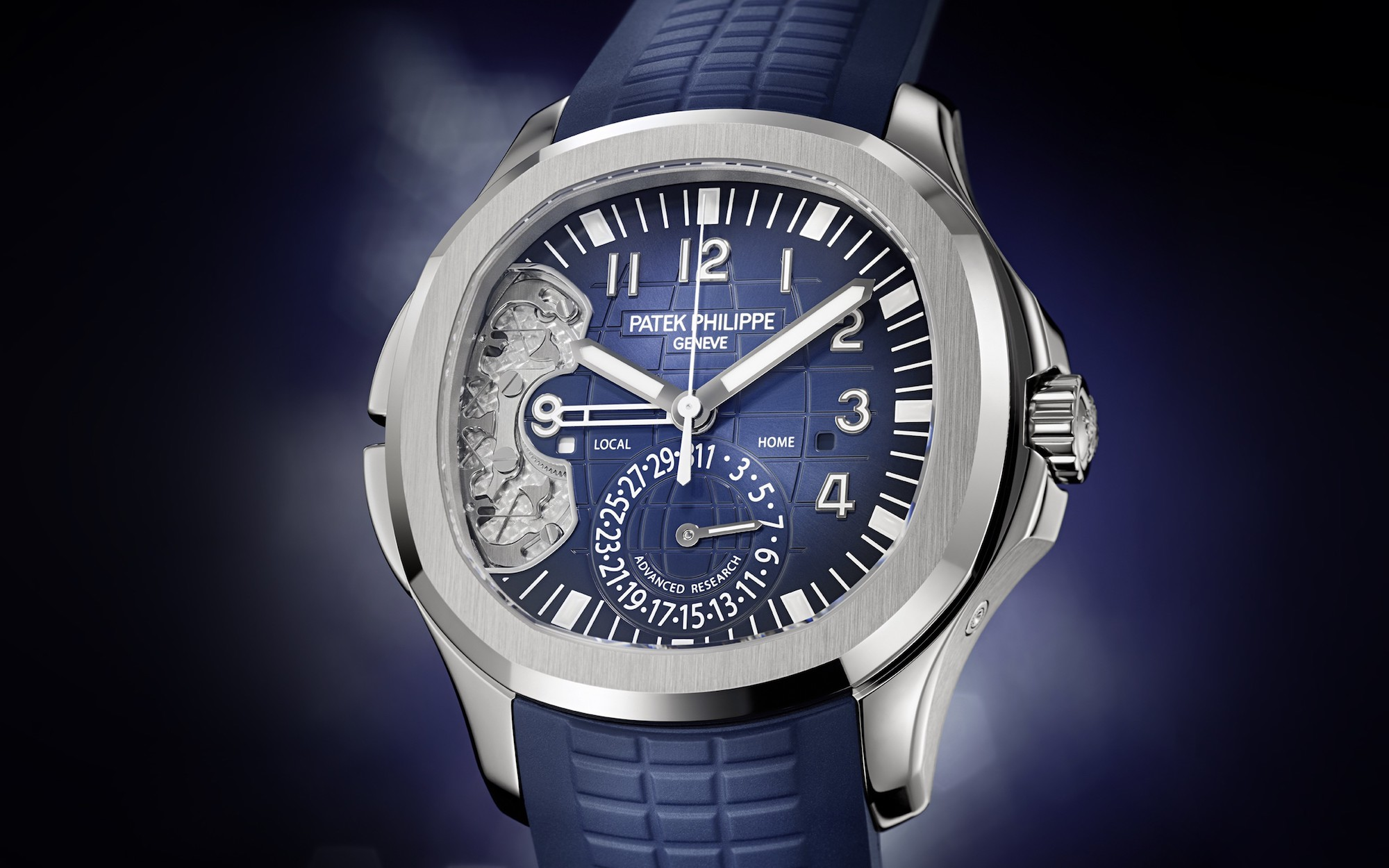 Patek Philippe Aquanaut Travel Time 5650G lifestyle
