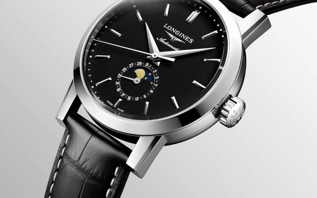 The Longines 1832, disponible en negro y para mujer