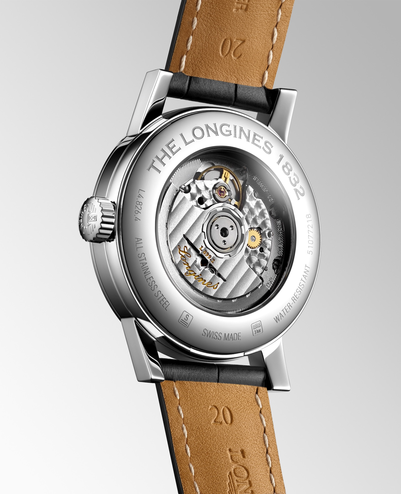 The Longines 1832 L4.826.4.52.0 trasera