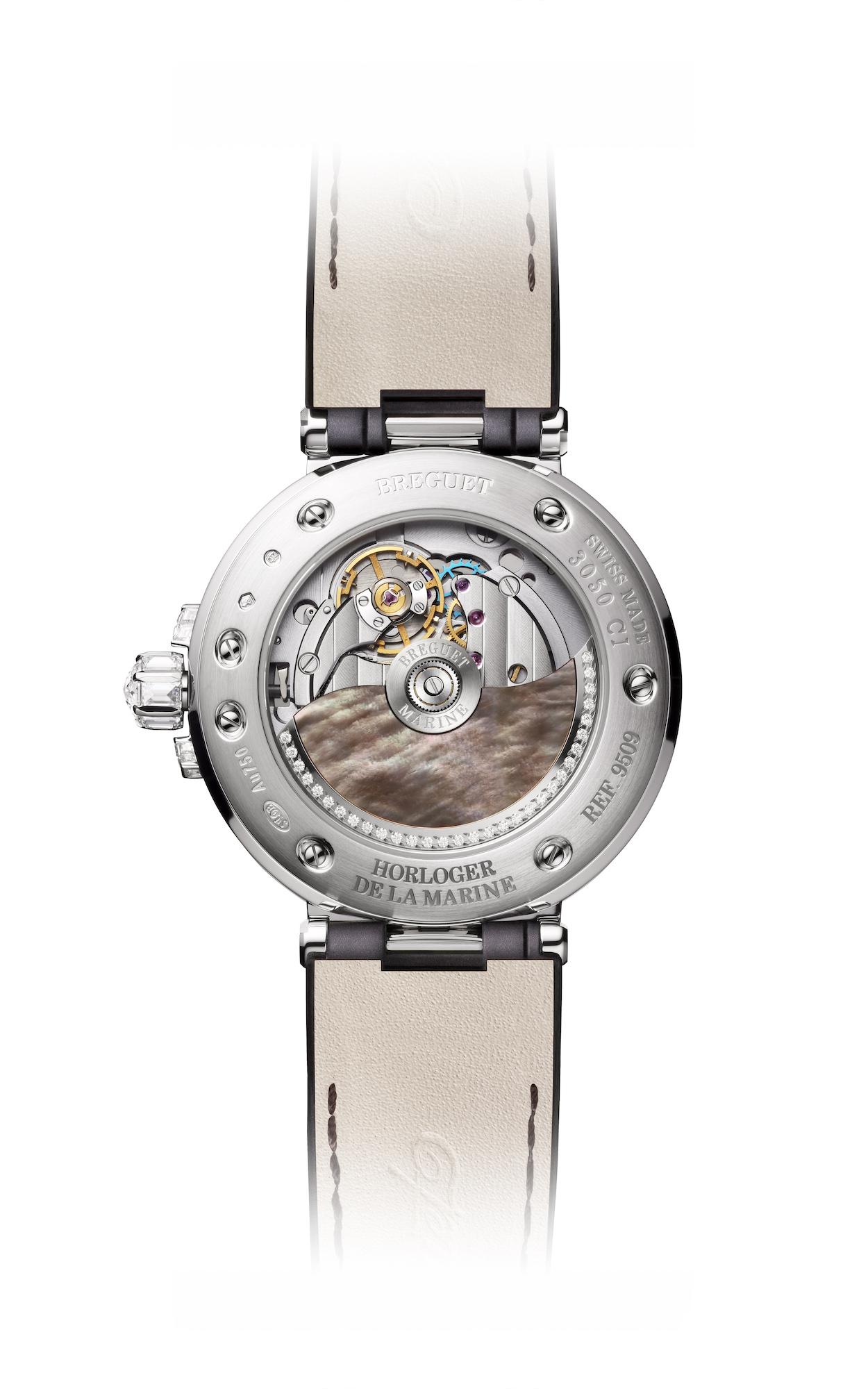 Breguet Marine Haute Joaillerie Poseidonia 9509BB5R984RD0R trasera