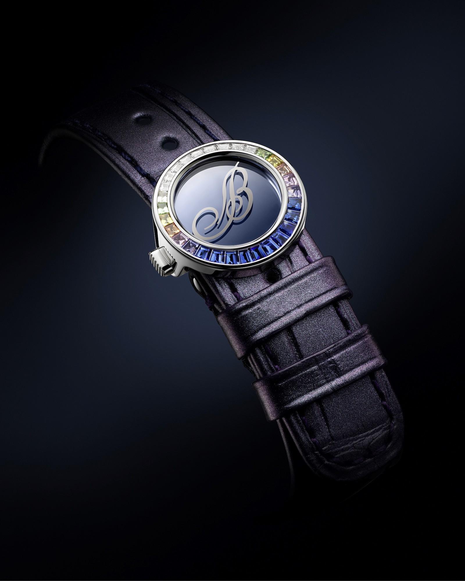 Breguet Marine Haute Joaillerie Poseidonia 9509BB5S984SD0S detalle cierre