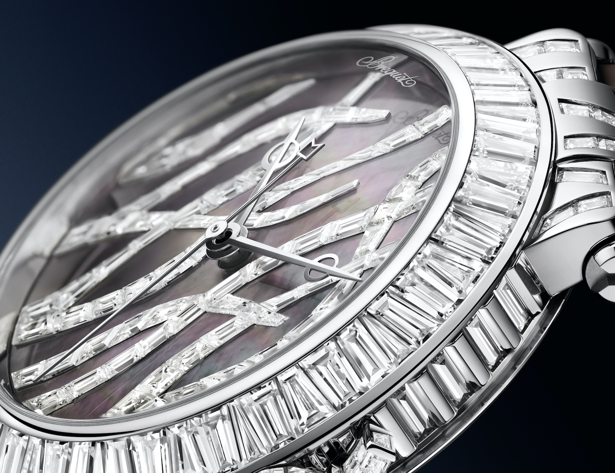 Breguet Marine Haute Joaillerie Poseidonia 9509BBTD984DD0D detalle diamantes