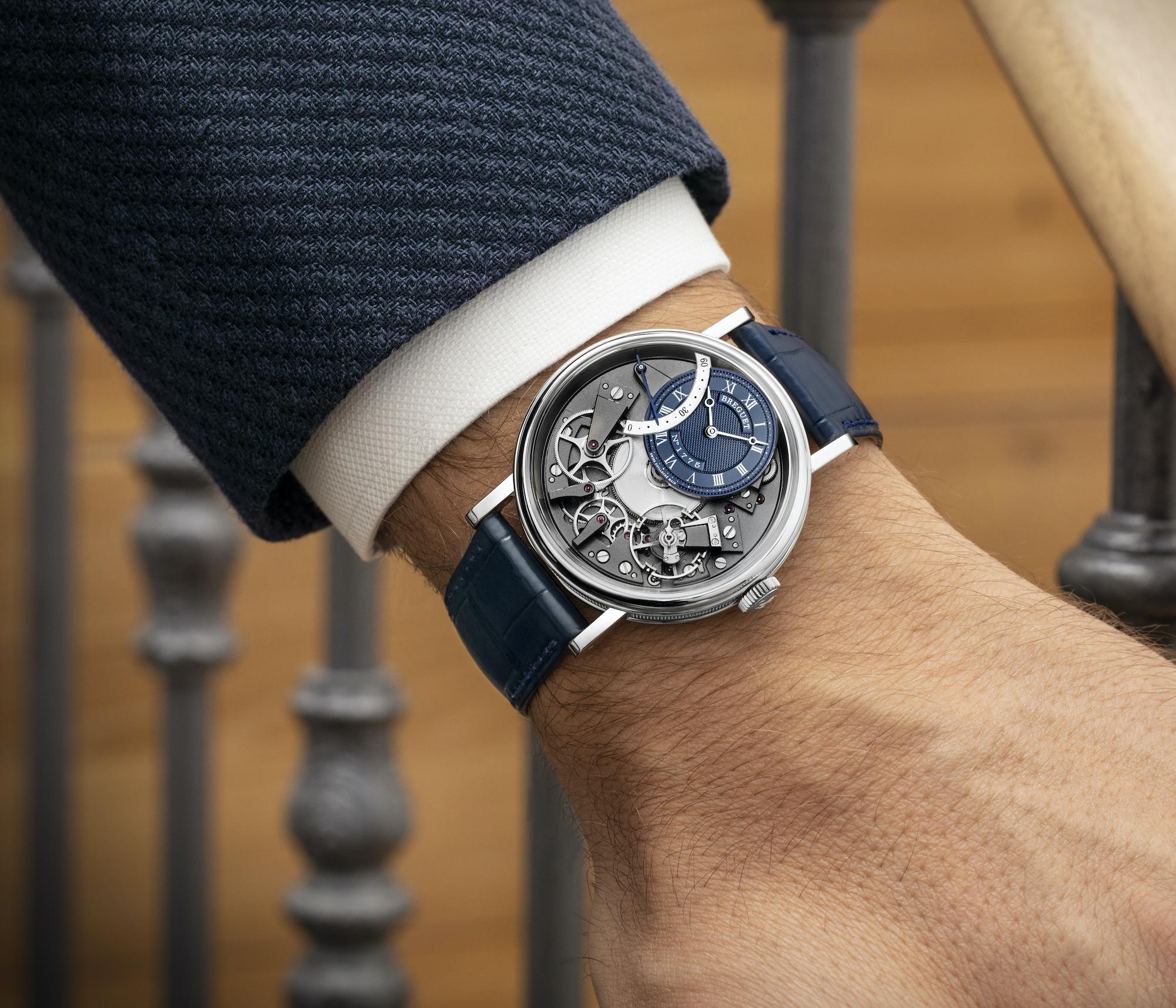 Breguet Tradition Automatique Seconde Retrograde 7097BBGY9WU wristshot